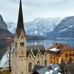 Hallstatt winter view (Austria) — Foto Stock