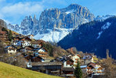 Mountain Tiers village (Italy). — Stock Photo