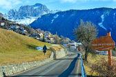 Village de niveaux de montagne (Italie). — Photo