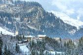 Winter mountain village (Austria, Tirol). — Stock Photo