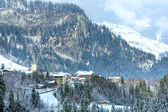 Winter mountain village (Austria, Tirol). — Zdjęcie stockowe