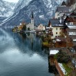 Hallstatt winter view (Austria) — Stock Photo