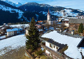 Mountain Liesing village in Lesachtal (Austria). — 图库照片