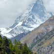 Stock Photo: Summer Matterhorn mountain (Alps)