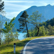 Lake Plansee summer landscape (Austria). — Stock Photo