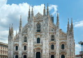 Milan Cathedral or Duomo di Milano (Italy). — Stock Photo