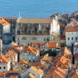 Dubrovnik Old Town view from up (Croatia) — Stock Photo #22484785