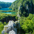 Plitvice Lakes National Park (Croatia) panorama. — Stock Photo
