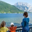 Traunsee summer lake (Austria). — Stock Photo #23344540