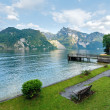 Traunsee summer lake (Austria). — Stock Photo #23345186