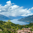 Stock Photo: Lake Como view (Italy)