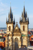 The Church of Our Lady before Tyn (Prague, Czech Republic) — Stock Photo