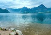Wolfgangsee summer lake (Austria). — Zdjęcie stockowe