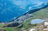 Mountain Bettmeralp village (Switzerland) — Foto Stock