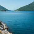 Two islets off the coast of Perast in Bay of Kotor, Montenegro — Stock Photo #23675831