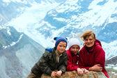 View to Kaunertal Gletscher (Austria) — ストック写真