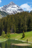Alpine view (Vorarlberg,Austria) — Stock Photo