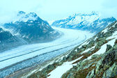Great Aletsch Glacier (Bettmerhorn, Switzerland) — Стоковое фото