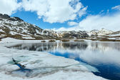 Alps mountain lake — Foto Stock