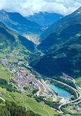 夏のアルプスの峠 — ストック写真