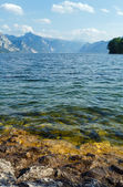 Traunsee summer lake (Austria). — 图库照片