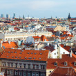 Stock Photo: Prague (Czech Republic) evening panorama.
