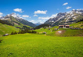 Vista alpino (vorarlberg, austria) — Foto de Stock