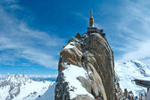 Mountain top station (Aiguille du Midi, France). — Stock Photo