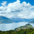 Stock Photo: Lake Como summer panoram(Italy)