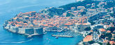 Dubrovnik Old Town view (Croatia) — Stock Photo