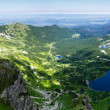 Summer Tatra Mountain ponarama, Poland. — Stock Photo