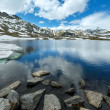 Alps mountain lake — Stock Photo