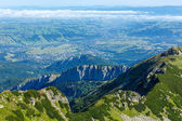 Yaz tatra mountain, polonya — Stok fotoğraf