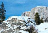 Magnifique paysage des rocheuses. — Photo