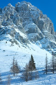 Macizo de la montaña de dachstein invierno — Foto de Stock