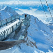 Stock Photo: Winter Dachstein mountain massif