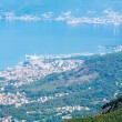 Bay of Kotor summer misty view from up (Montenegro) — Stock Photo #33186667