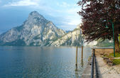 Traunsee summer lake (Austria). — Foto de Stock