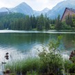 Strebske Pleso (Slovakia) summer view. — Stock Photo