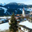 Mountain Liesing village in Lesachtal (Austria). — Stock Photo