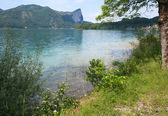 Mondsee summer lake (Austria). — Stock Photo