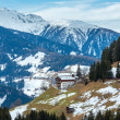 Mountain Obergail village in Lesachtal (Austria). — Stock Photo