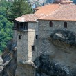 Meteora rocky monasteries — Stock Photo