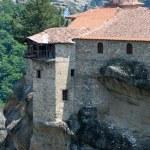 Meteora rocky monasteries — Stock Photo #35898743