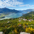 Lake Como view (Italy) — Stock Photo