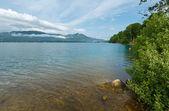 Wolfgangsee summer lake (Austria). — Stock Photo