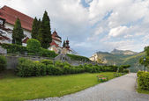 Traunsee summer lake (Austria). — Stockfoto