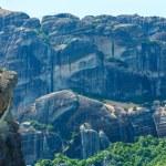 Meteora rocky monasteries summer panorama. — Stock Photo #36292863