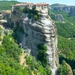 Meteora rocky monasteries — Stock Photo #36293193