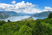 Lake Como view (Italy) — Stockfoto
